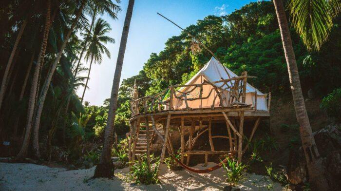 Live that tent life at Dryft Darocotan Island