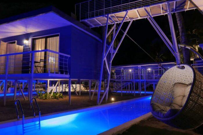 Live your Malibu beach house dreams at Apsaras Tribe Resort