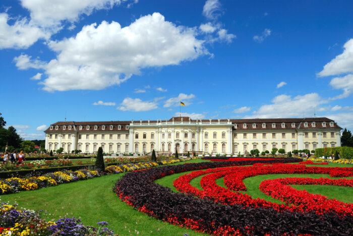 Ludwigsburg Palace photo via Depositphotos