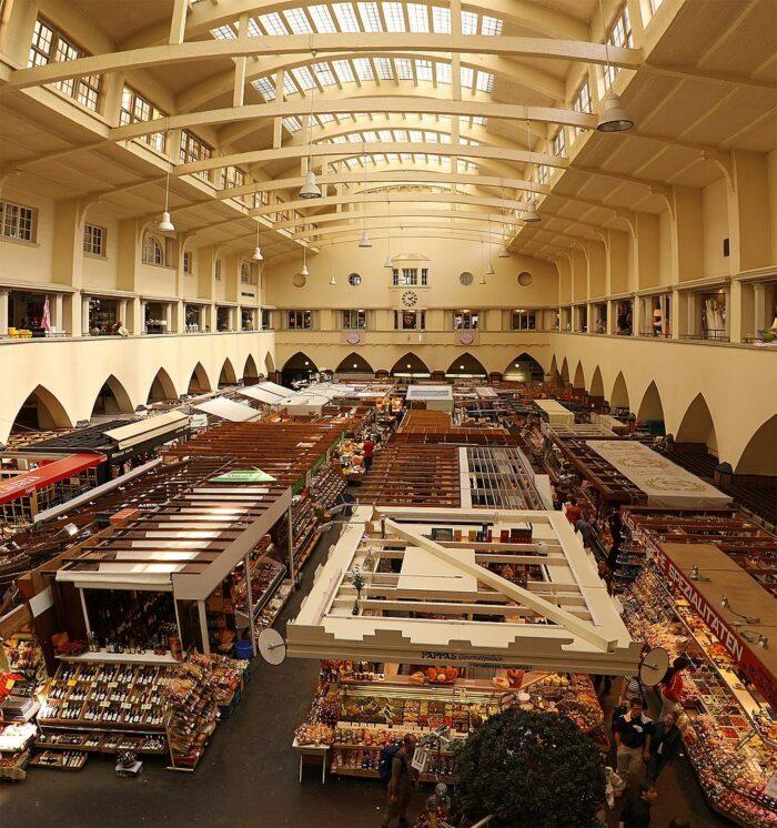 Markthalle Stuttgart by Thomas Wolf via Wikipedia CC
