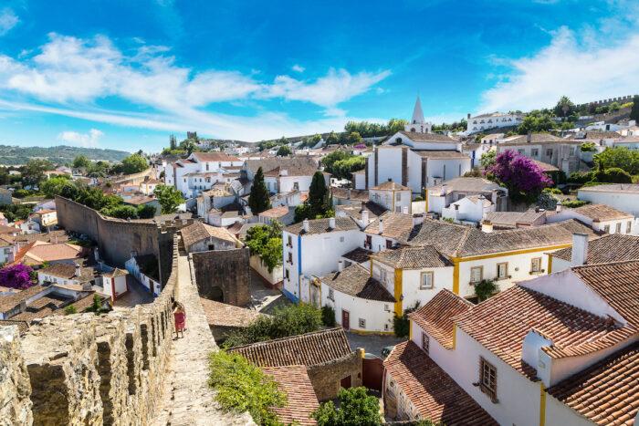 Medieval town Obidos photo via Depositphotos