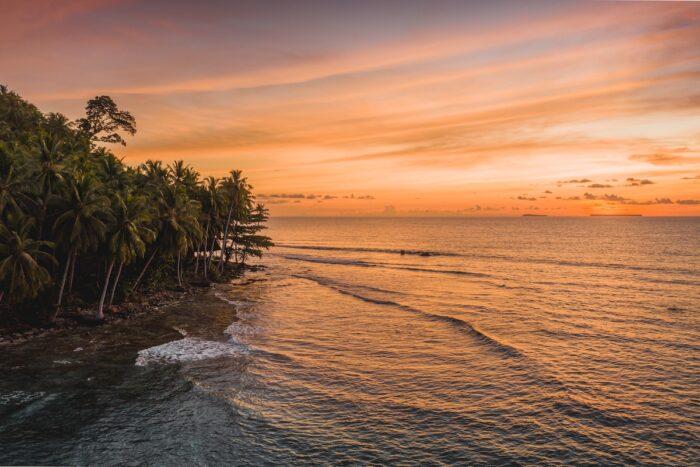Mentawai Islands Sunset photo via Depositphotos