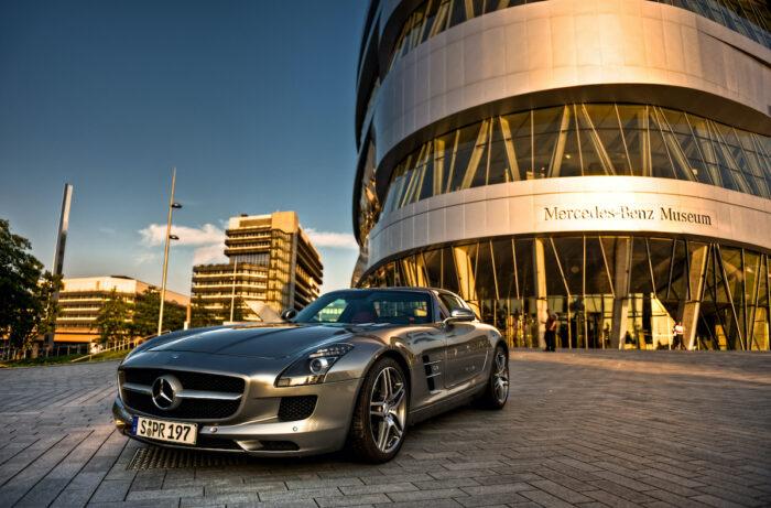 Mercedes-Benz Museum photo via Depositphotos
