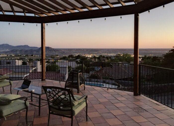 Mountainside suite Airbnb in El Paso Texas