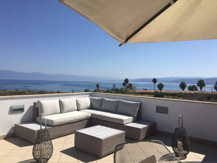 Ocean View Airbnb in Calabria Italy