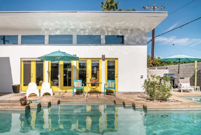 Palm Springs California Airbnb with a Pool
