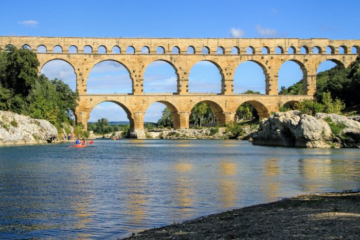 Pont du Gard, South of France photo via Depositphotos