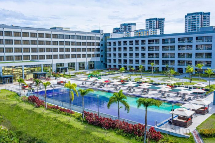 Pool Outdoor View of Hilton Clark Pampanga