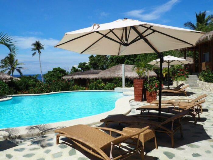 Poolside of Magic Oceans Dive Resort in Anda Bohol