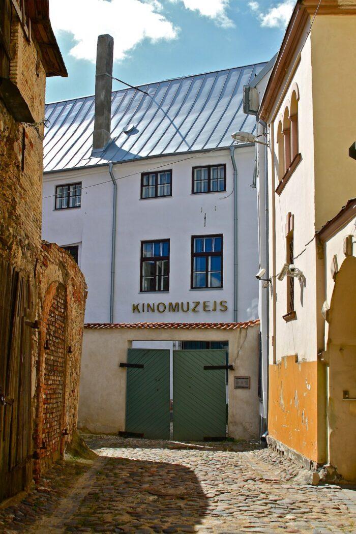 Riga Film Museum by Smig via Wikipedia CC
