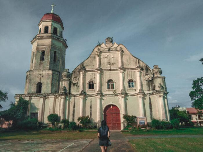 Saint Catherine of Alexandria Church in Tayum, Abra by Beverly Rice via Facebook