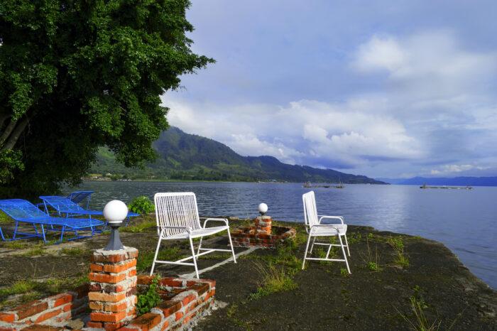 Samosir Island, Lake Toba, North Sumatra, Indonesia photo via Depositphotos