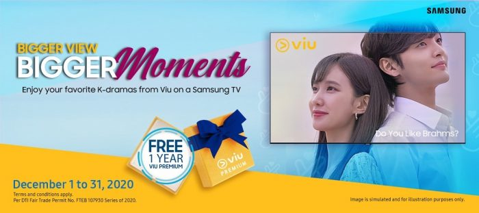 Samsung x Viu Promo
