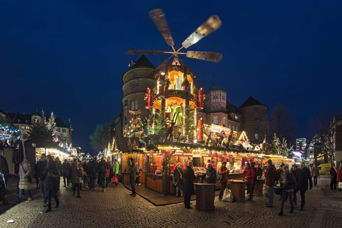 Stuttgart Christmas Market photo via Depositphotos