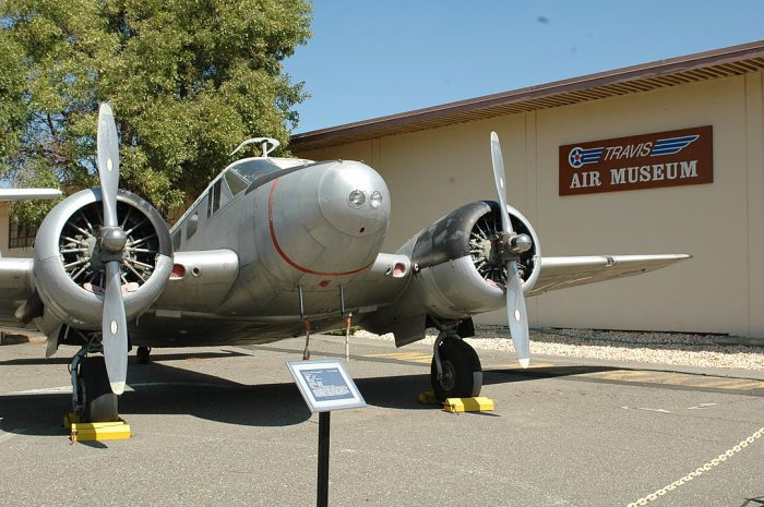 Travis Air Museum by Nick DeCicco via Wikipedia CC