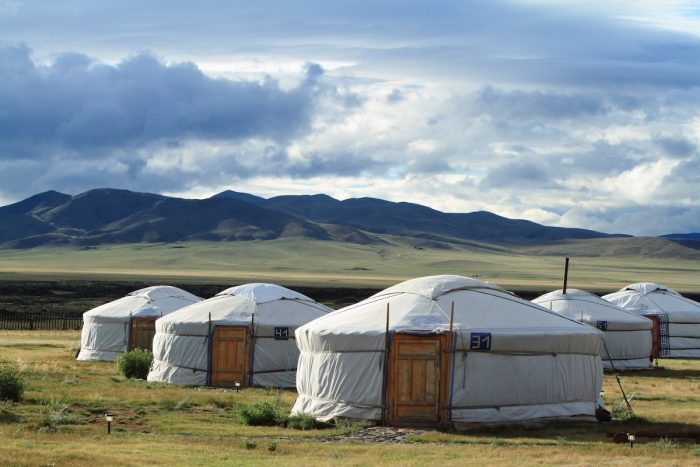 Yurt Villages of Mongolia photo via Depositphotos