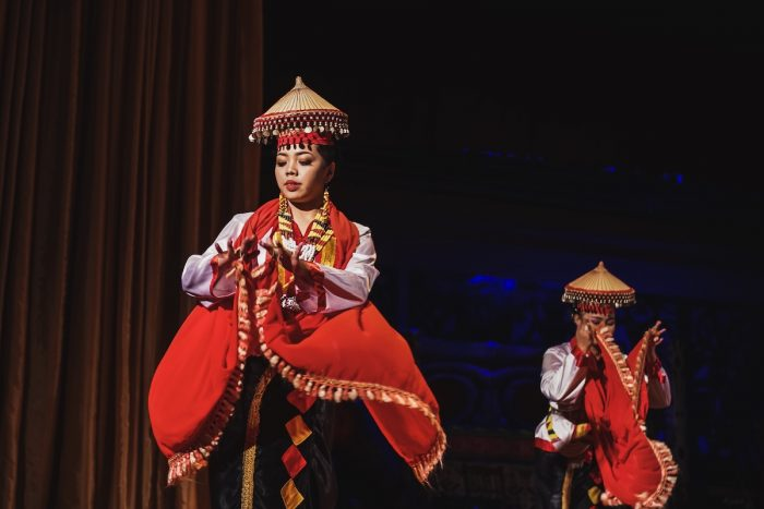 A Sarawakian Traditional dance by Sarawakian people in Sarawak Cultural Village photo via Depositphotos.jpg