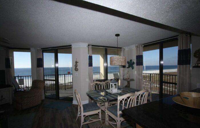 Airbnb in Orange Beach AL with Ocean View