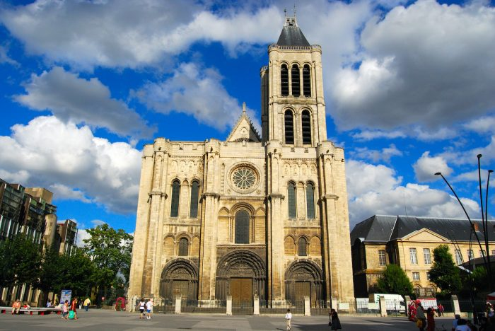 Basilica of Saint-Denis photo via Depositphotos
