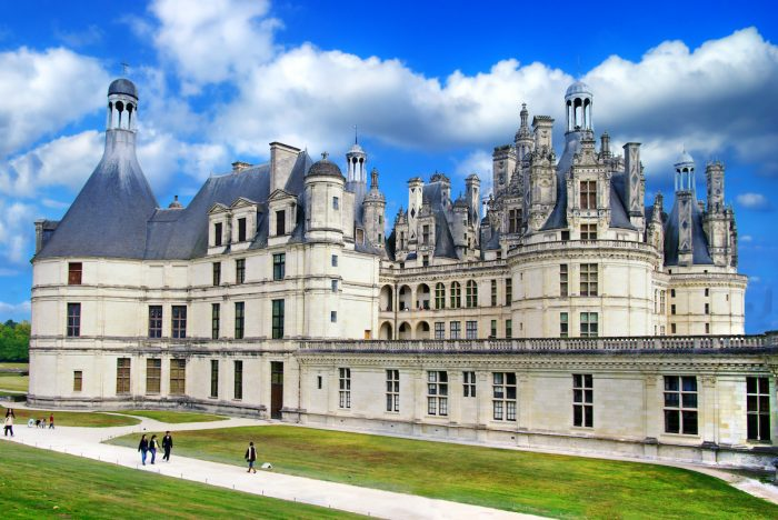 Beautiful Chambord castle -Loire valley photo via Depositphotos
