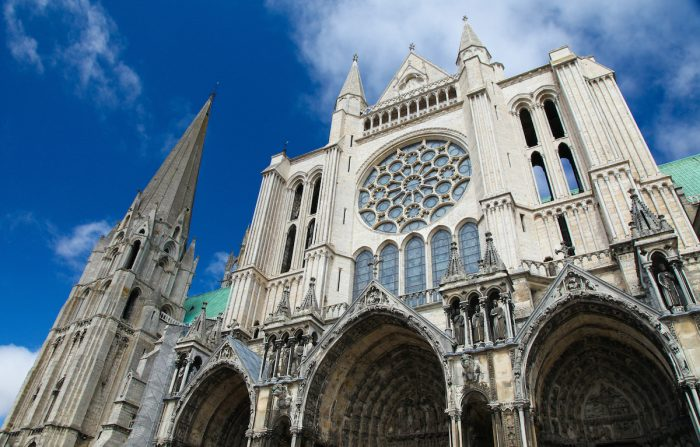 Chartres Cathedral photo via Depositphotos