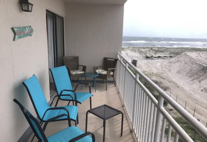 Condo Airbnb rental at Sugar Beach Alabama