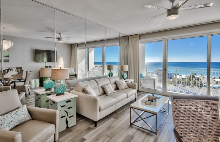 Destin Airbnb with Beach views