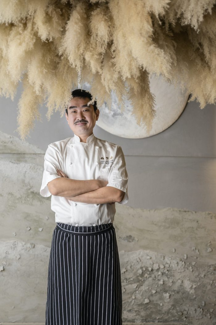 Executive Chef Gu Jin Kwang
