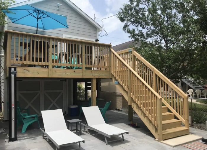 Airbnb de Galveston con jacuzzi