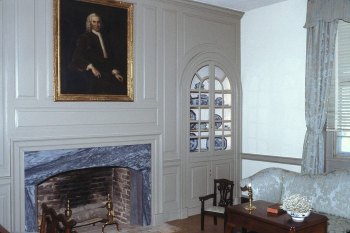 Inside John Dickinson House photo by Jerrye and Roy Klotz MD via Wikipedia CC