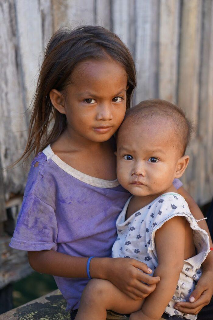 Kids in Bajau Village