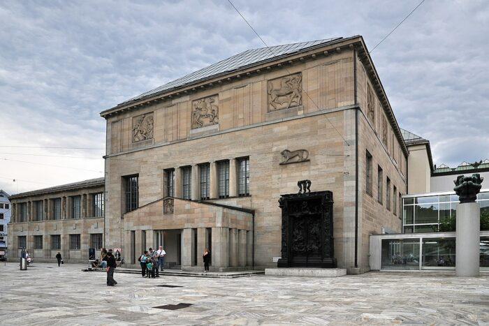 Kunsthaus Zurich by Roland zh via Wikipedia CC