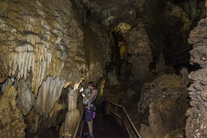 Lang Cave in Mulu National Park, Malaysia photo via Depositphotos