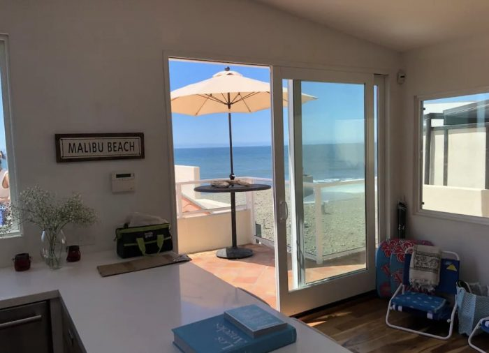 Malibu Road Luxury Beachfront Airbnb Apartment