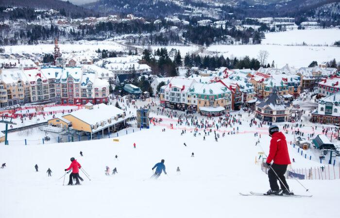 Mont-Tremblant Ski Resort, Quebec, Canada photo via Depositphotos
