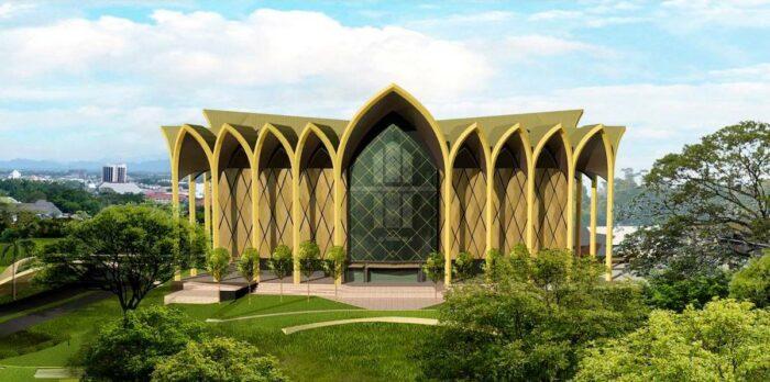 New Sarawak Museum, Kuching photo via Arkitek KDI Fb page