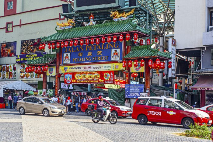 Petaling Street in KL photo via Depositphotos