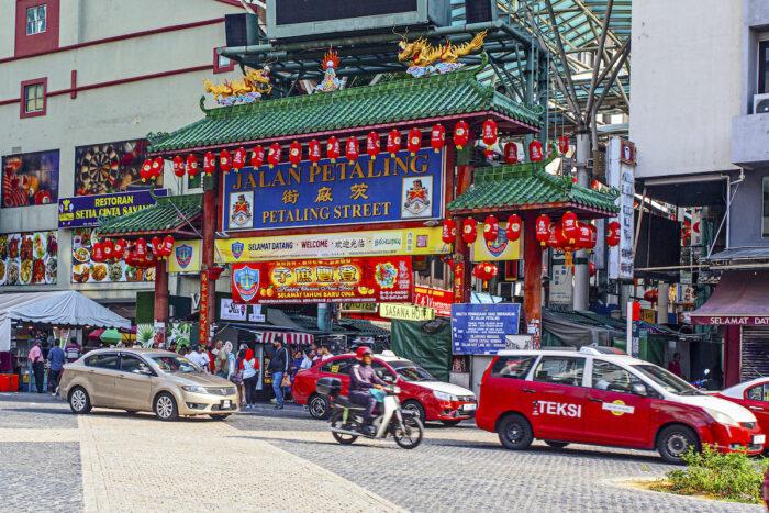 Petaling Street in KL photo via Depositphotos