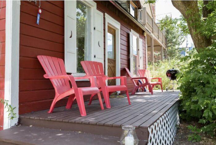 Romantic historic Airbnb cottage in Park City Utah