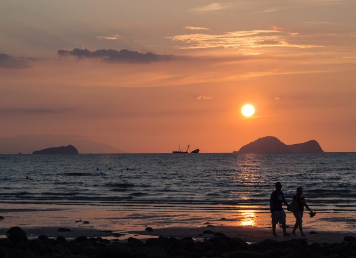 Satang Island Sunset by Dustin Iskandar via Flickr CC