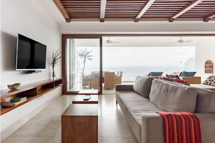 Spectacular Ocean Views from a Sleek Puerto Vallarta Apartment
