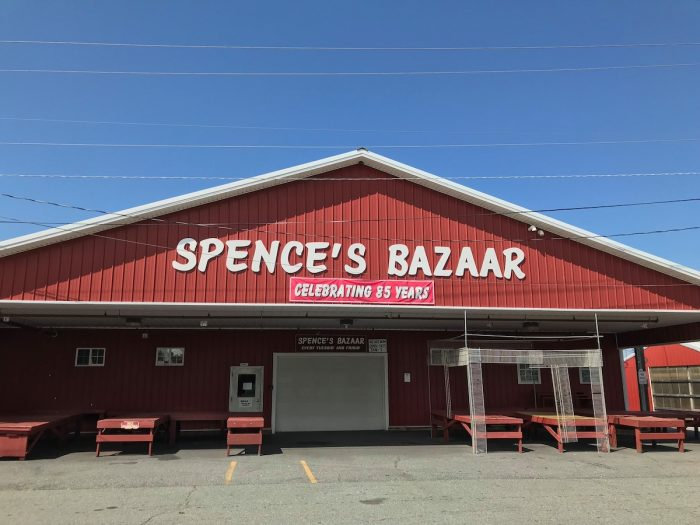Spence's Bazaar photo via FB page