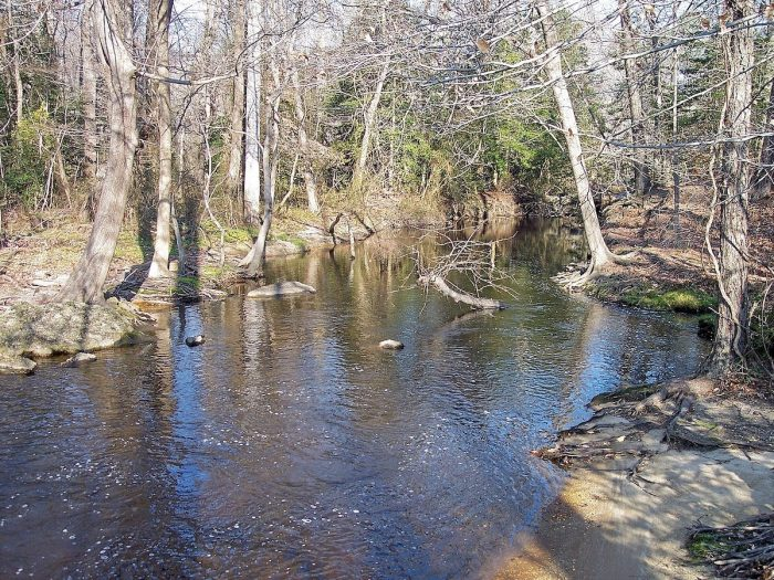 The Murderkill River in Killens Pond State Park by Tim Kiser via Wikipedia CC
