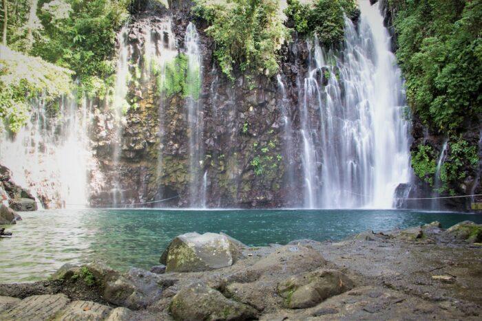 Tinago Falls boasts of its 240 ft. drop waterfall photo via DOT