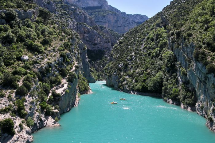 Verdon Gorge photo via Depositphotos