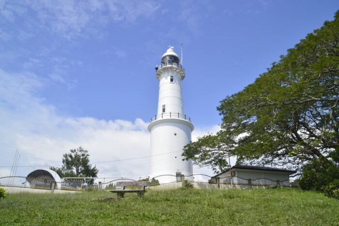View of the lighthouse of Melawati Hill, Kuala Selangor, Malaysia photo via Depositphotos
