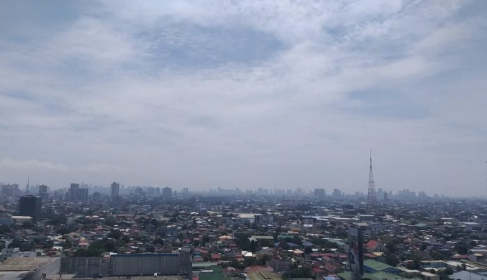 26th floor Airbnb unit in Quezon City