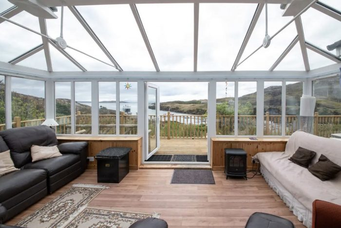 Airbnb home rental in Tarbert