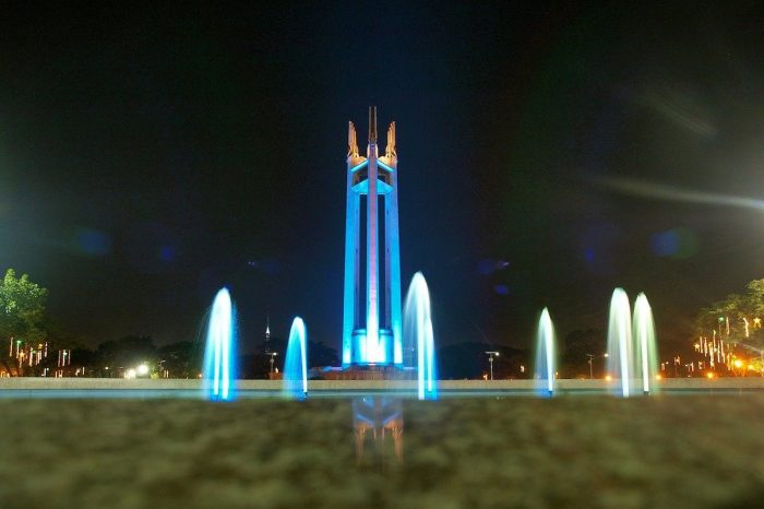Best Things to do in Quezon City - QC Circle at Night