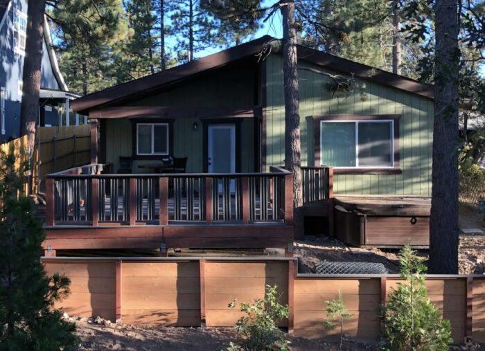 Big Bear Lake Modern Cabin in the Woods
